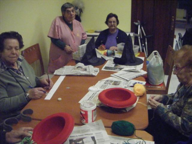 Celebración Carnaval Residencial Santa Cecilia Siero